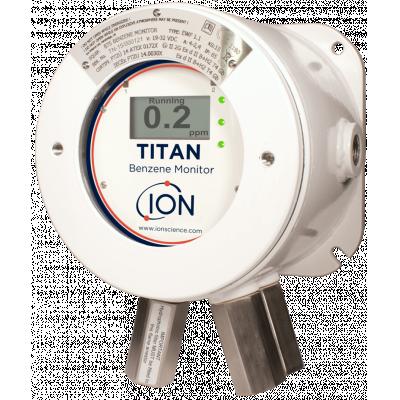 टाइटन, बेंजीन की निश्चित गैस डिटेक्टर