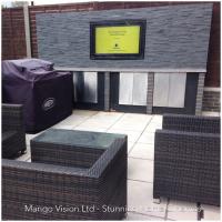 Kabinet TV outdoor dari Solusi Duratek