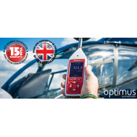 Optimus Green sound level meter dengan tonal detection