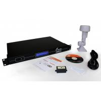 Perangkat server waktu jaringan GPS NTP, receiver, dan perangkat lunak TimeSync