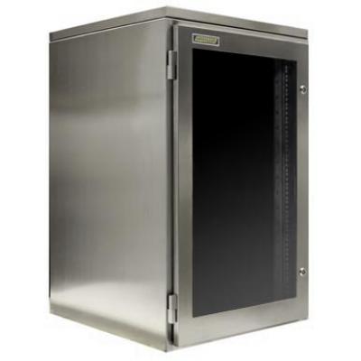 Waterproof Rack-mount kabinet untuk perlindungan server