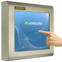 monitor layar sentuh tahan air dari Armagard
