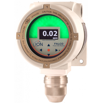 Fixed PID gas detector