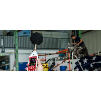 Monitor di esposizione al rumore professionale di Cirrus