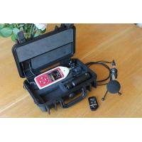 Il rumoroso vicino al suono del registratore per misurare con precisione i livelli sonori.