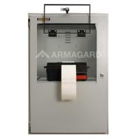 stampante recinzione vista frontale con patta aperta stampante