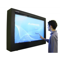 segnaletica digitale PDS touch screen serie