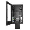 drive thru segnaletica digitale enclosure aperto