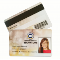 Servizio di stampa carte d'identità in plastica per carte aziendali
