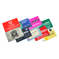 Servizi di stampa di carte regalo aziendali
