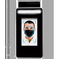 Cirrus Researchの顔認識機能付き赤外線温度計。