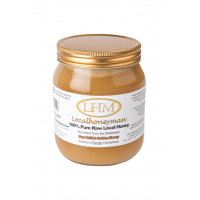 純生黄金の蜂蜜のジャー