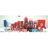 火災と安全装置のストックリスト