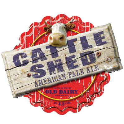 오래된 유제품 양조장에 의해 창고 가축, 영국, 미국 창백한 에일 유통