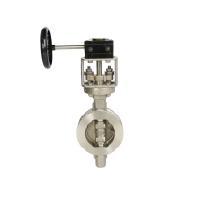 오메가 밸브의 스테인레스 스틸 버터 플라이 밸브