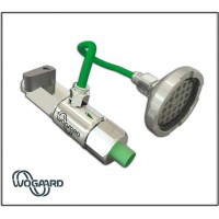 Sistem pemulihan minyak pemotongan Wogaard untuk mesin CNC.