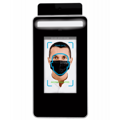 Termometer inframerah dengan pengecaman wajah dari Cirrus Research.