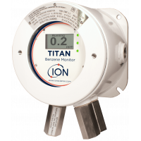 Titan, pengesan gas tetap benzena