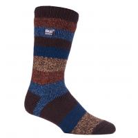 Gestreepte sokken voor heren van de toonaangevende leverancier van thermische kousen.