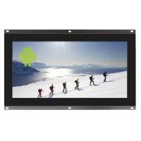 Vooraanzicht van 10,1-inch open frame-monitor.