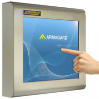 waterdichte touchscreen monitor van Armagard