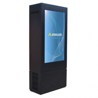 Armagard dubbele outdoor digitale totem