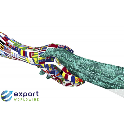 Wereldwijd exporteren wat hybride vertaling is