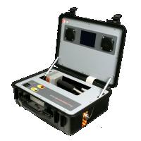 Bekroonde draagbare sf6 gaslekdetector