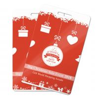 Bedrijfskaarten aangepaste cadeaubonnen voor uw bedrijf