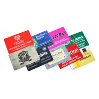 Bedrijfskaarten afdrukken met cadeaubon