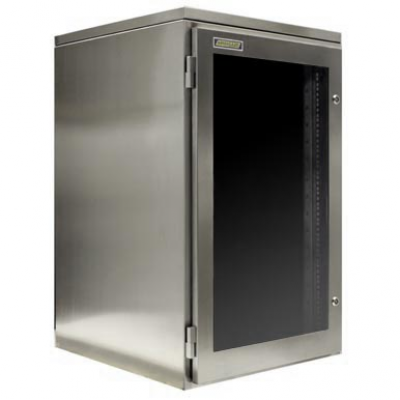 Vanntett Rack mount kabinett for serverbeskyttelse