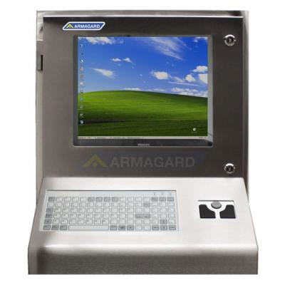Sprutsikkert IP65 tastatur med trackerball