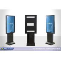 Kjør gjennom totem for Samsung OHF-skjermer som vises på ISE 2020.