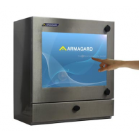 Vanntett touch screen PC hovedbildet