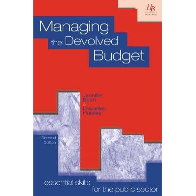 budsjettering og økonomistyring i offentlig sektor av HB Publikasjoner