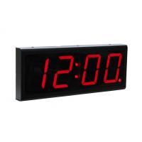 Sygnały Zegary czterocyfrowy sprzęt NTP widok z boku zegara