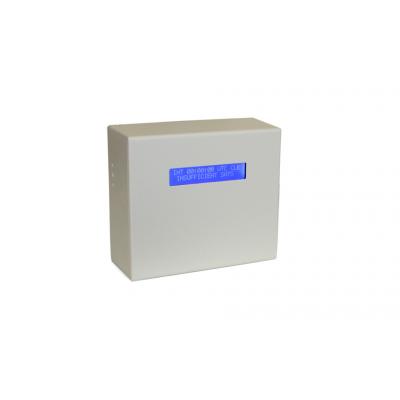 sieciowy serwer czasu odbiornik GPS widok przedni wyświetlacz