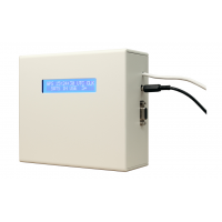 sieciowy serwer czasu odbiornik GPS wyświetlacz boczny