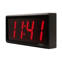 Inova czterocyfrowy cyfrowy zegar ścienny cyfrowy widok z boku