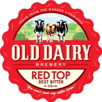 czerwony top od starego browaru mleczarskiego, Brytyjskie najlepiej gorzka dystrybutora
