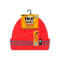 Chapéus térmicos HeatHolders para trabalhadores da construção