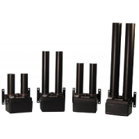 gama de diferentes tamanhos de secadores de ar
