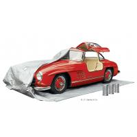Pacotes dessecantes reutilizáveis sendo usados para armazenamento de carro a longo prazo.