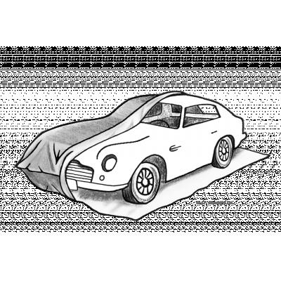 Garagem temporária para carros de luxo e armazenamento a longo prazo.