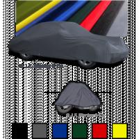 Tampa de carro de garagem de cetim com pijama automático para carros e motos valiosos.