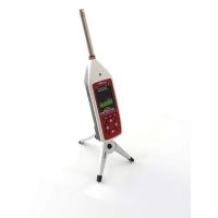 Medidor de nível de som com análise de frequência