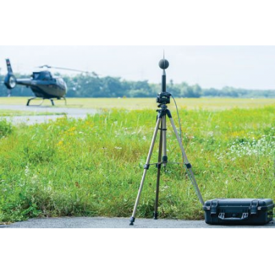 medidor de nível de som ao ar livre