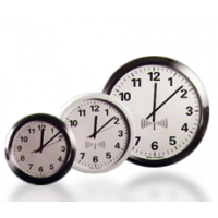 visor do relógio frente rádio IP analógico