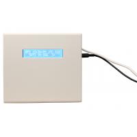 servidor de horário de rede gps frontal do receptor com o cabo conectado