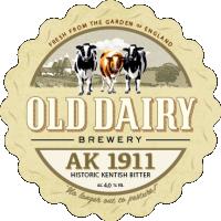 ak 1911 por antiga cervejaria laticínios, distribuidor de cerveja kentish britânico